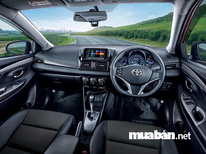 Nội thất của xe rất tiện nghi, hiện đại và sang trọng.