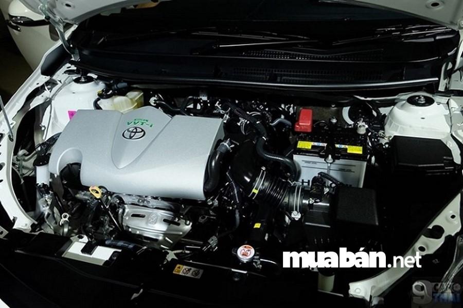 Động cơ của Toyota Vios 2018 có nhiều cải tiến đột phá.