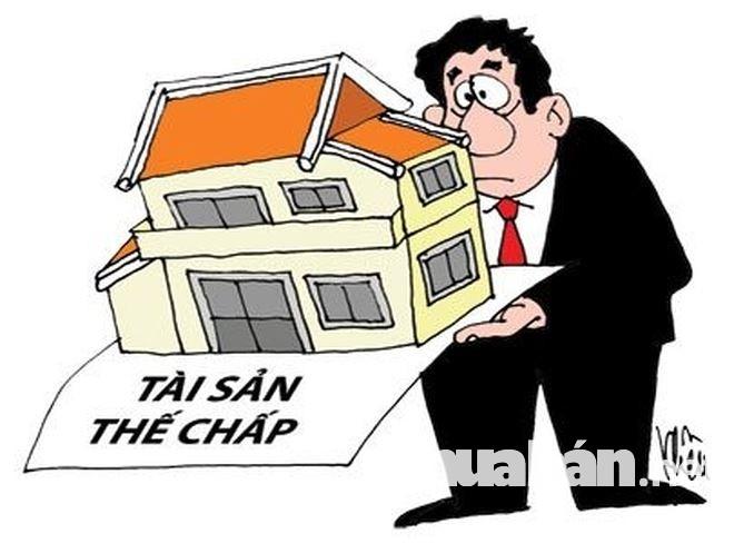 Sử dụng tài sản thế chấp để chứng minh khả năng chi trả nợ