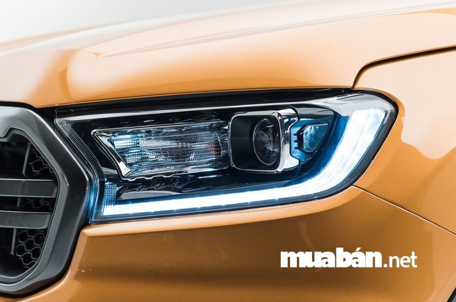 """Ford Ranger 2019 có """"ngoại hình"""" ấn tượng được kế thừa nhiều ưu điểm của các thế hệ tiền nhiệm."""