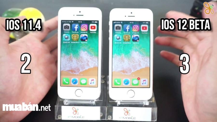 Hệ điều hành iOS 12