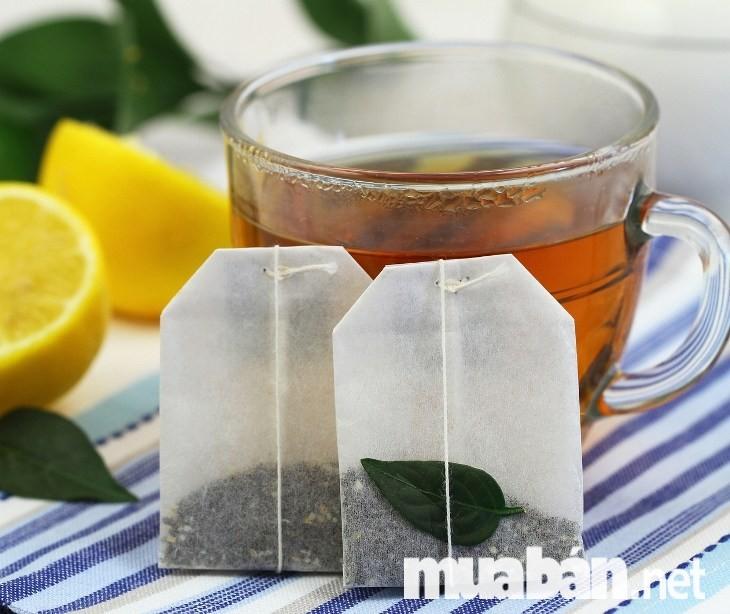 Khử mùi tủ lạnh bằng trà khô