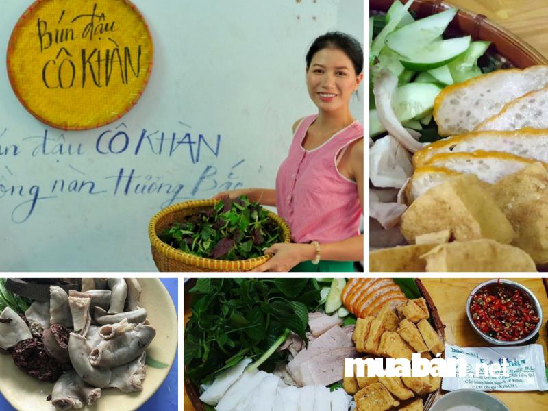 Bún đậu cô Khàn - quán ăn của người mẫu Trang Trần.
