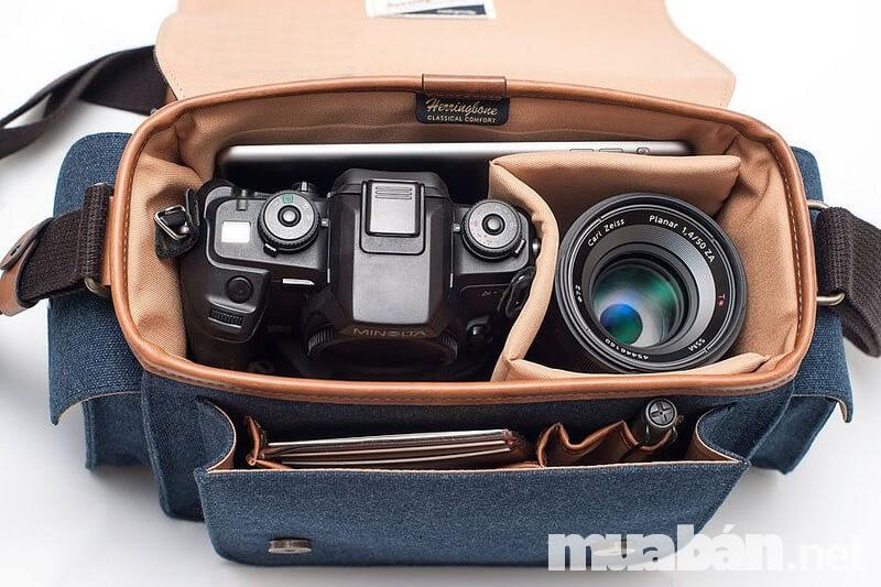 Túi đựng giúp bạn mang nhiều phụ kiện chụp ảnh mà không sợ quên