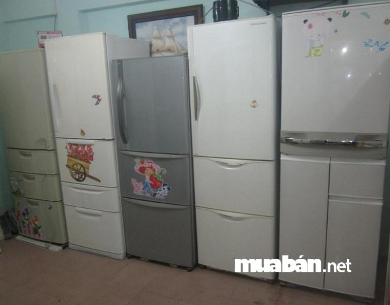 Cân nhắc về dung tích và kích thước trước khi mua tủ lạnh cũ.