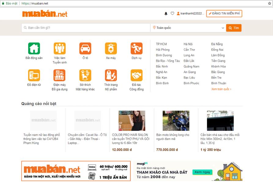 Website Muaban.net- Một Trong Số Những Trang Web Giới Thiệu Việc Làm Uy Tín Nhất Việt Nam.