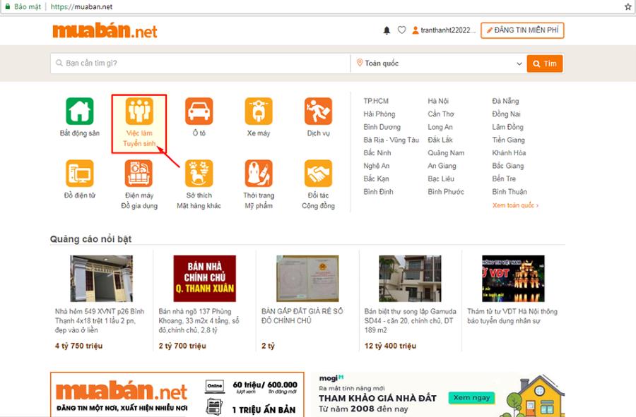 Biết Khoanh Vùng Được Công Việc Và Địa Phương Mình Muốn Ứng Tuyển Sẽ Giúp Bạn Nhanh Chóng Tìm Được Việc Làm Phù Hợp Trên Muaban.net.