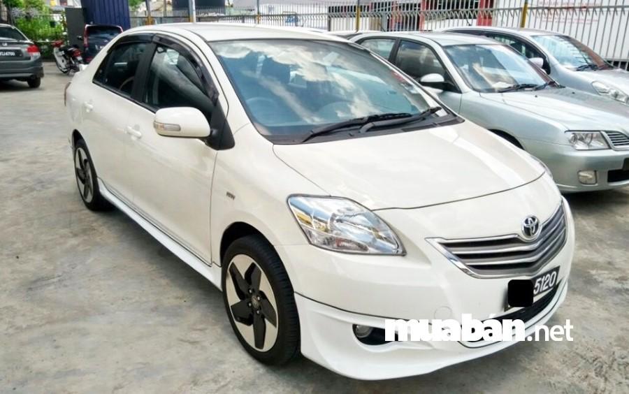 Toyota Vios đứng đầu danh sách dòng xe ô tô cũ giá rẻ đáng mua nhất tại muaban.net.
