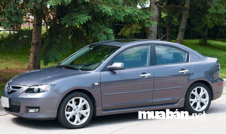 Xe ô tô cũ Mazda 3 đời 2009 được rao bán phổ biến ở mức giá 370 - 410 triệu đồng.