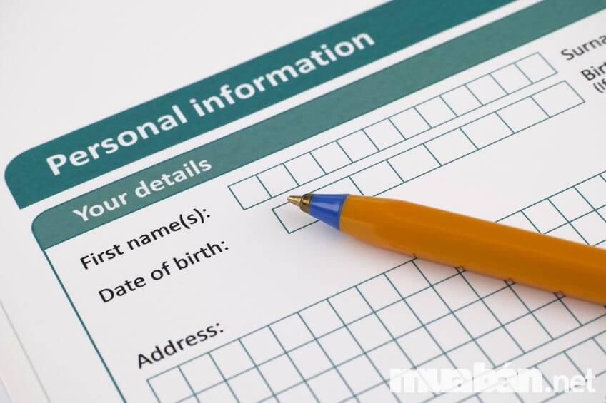 Xem xét trước khi đăng ký vào form ứng tuyển tránh bị lấy cắp thông tin