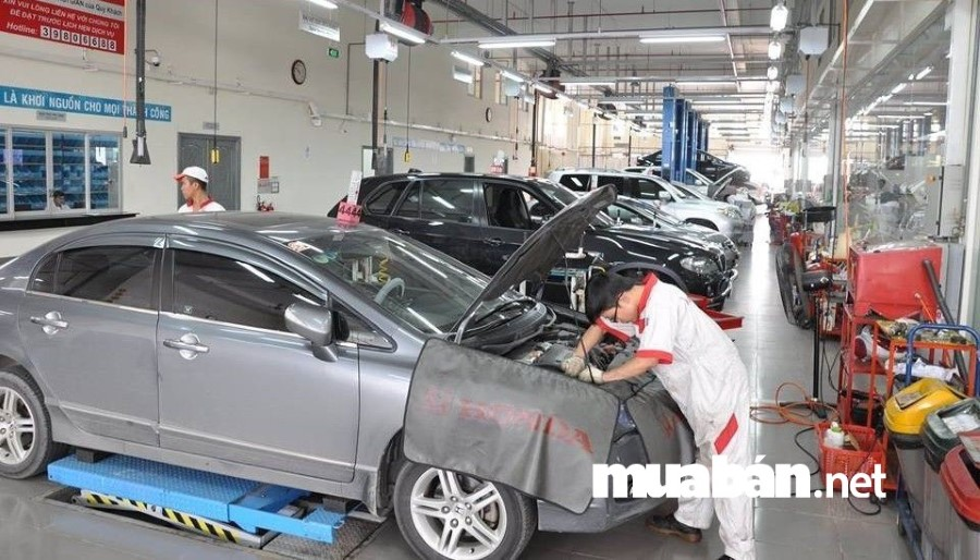 sau một thời gian hoạt động, xe phải được kiểm tra và bảo dưỡng nhằm đảm bảo độ an toàn