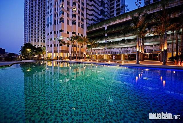 bể bơi tại chung cư Mulberry Lane