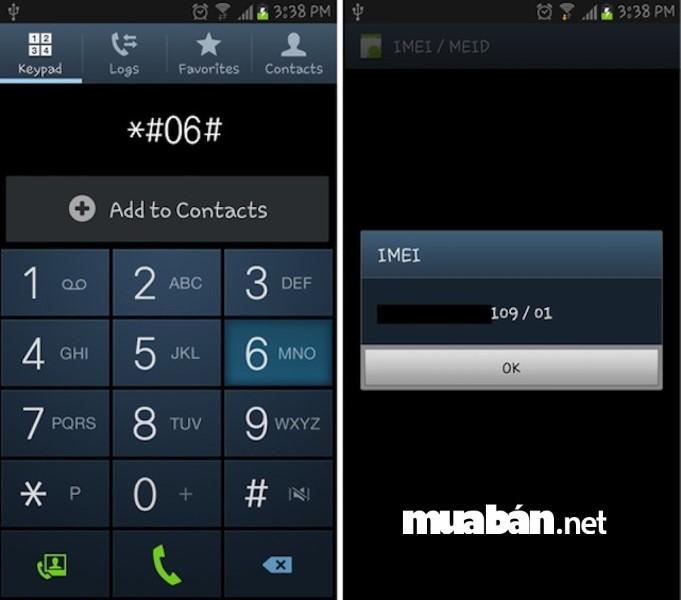 Từ số IMEI bạn có thể biết được chiếc điện thoại cũ định mua có nguồn gốc từ đâu và có đúng là hàng chính hãng hay không.