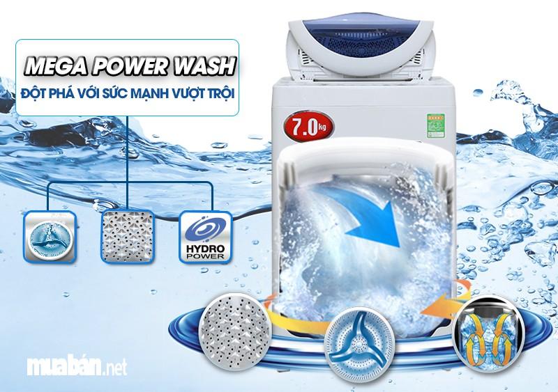 máy giặt Toshiba AW-A800SV WB