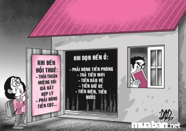 Nhà trọ giá rẻ