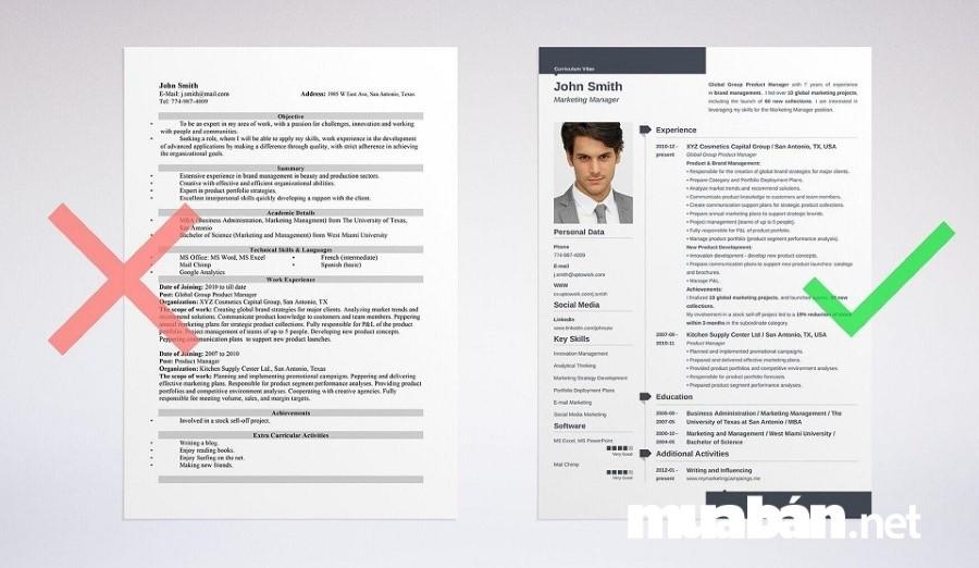 Những hồ sơ đẹp, trình bày súc tích, ngắn gọn và đẹp mắt thường gây chú ý với các nhà tuyển dụng hơn.