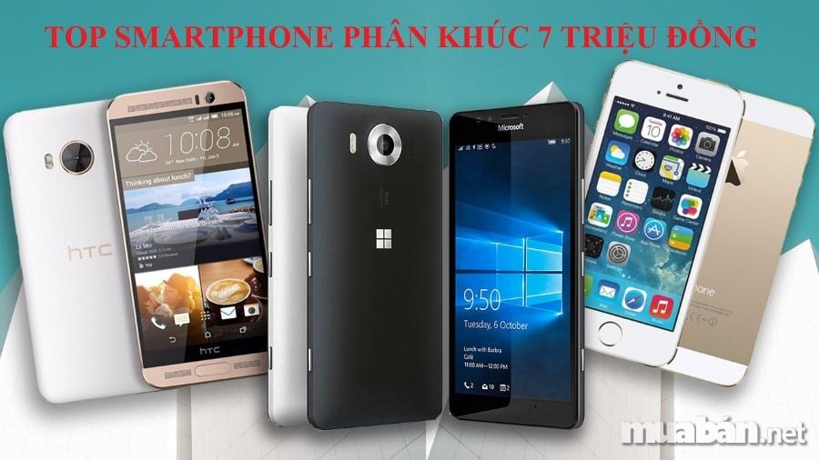 Ngày Nay, Smartphone Đã Trở Thành Vật Dụng Không Thể Thiếu Của Rất Nhiều Người. Nó Không Chỉ Là Phương Tiện Dùng Để Liên Lạc Mà Còn Là Phương Tiện Giải Trí Và Làm Việc Hiệu Quả. Cùng Chúng Tôi Tìm Hiểu Top 5 Smartphone Phân Khúc 7 Triệu Đồng Đang Làm Mưa, Làm Gió Trên Thị Trường Hiện Nay Nhé!