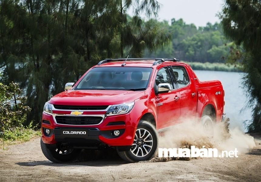 Giá xe Chevrolet Colorado giao động chỉ từ 624 - 819 triệu đồng tùy phiên bản.