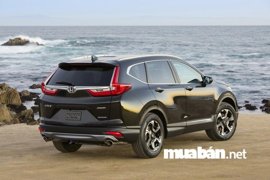 Honda CR-V 2018 gây ấn tượng bởi động cơ tăng áp 1.5L VTEC TURBO kết hợp với hộp số vô cấp CVT, Honda CR-V thế hệ mới tiết kiệm nhiên liệu