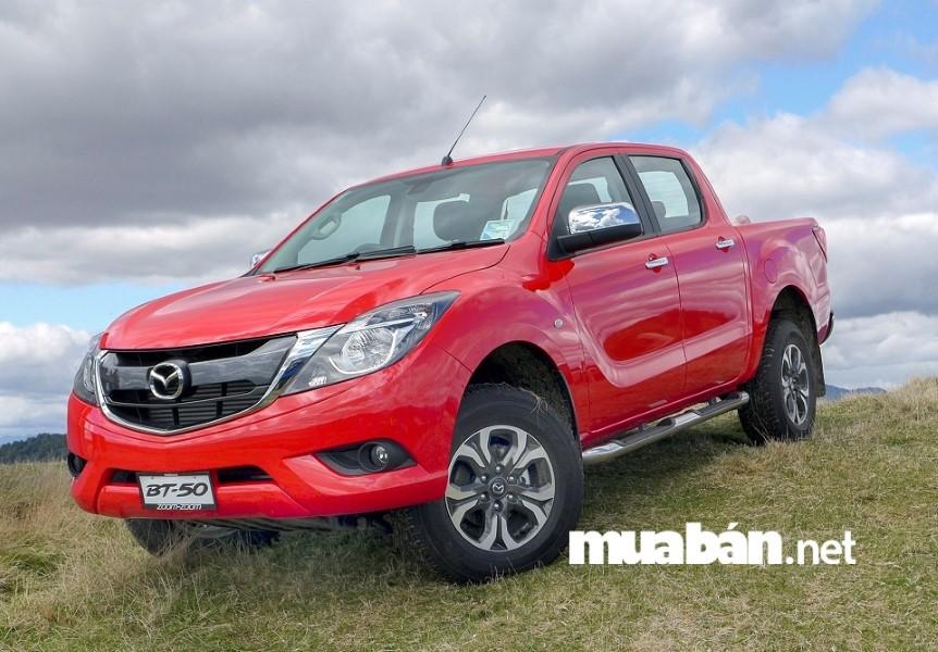 Mazda BT-50 không chỉ gây ấn tượng với vẻ ngoài bắt mắt và thu hút không hề kém cạnh những chiếc SUV.
