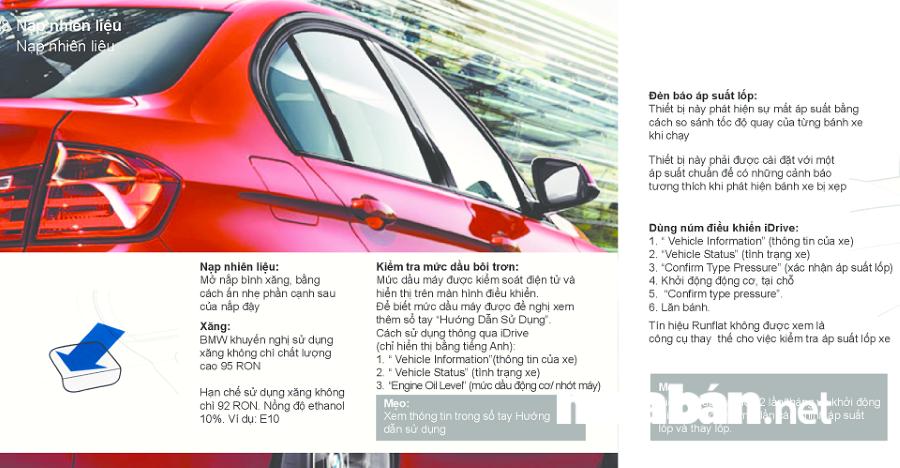 """Sách hướng dẫn sử dụng xe được coi là """"người thầy"""" trong việc bảo dưỡng, chăm sóc xe hơi."""