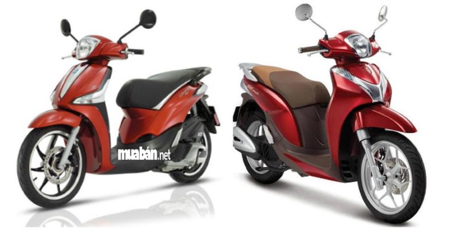 Honda SH Mode 20 18 và Liberty