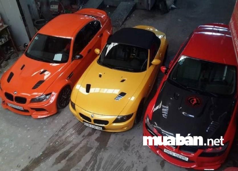 Garage Car Wash Café (CWC), là một địa chỉ uy tín tại Sài Gòn được nhiều thành viên tin tưởng khi sơn, sửa và rửa xe hơi.