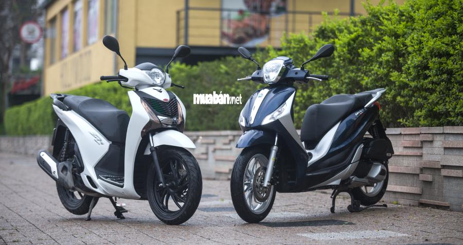 Honda SH Mode 2018 và Liberty