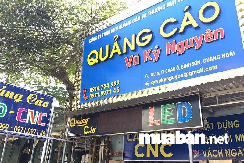 Trên địa bàn thành phố Hồ Chí Minh nói riêng và các thành phố lớn trên cả nước nói chung đều không thiếu những công ty quảng cáo.