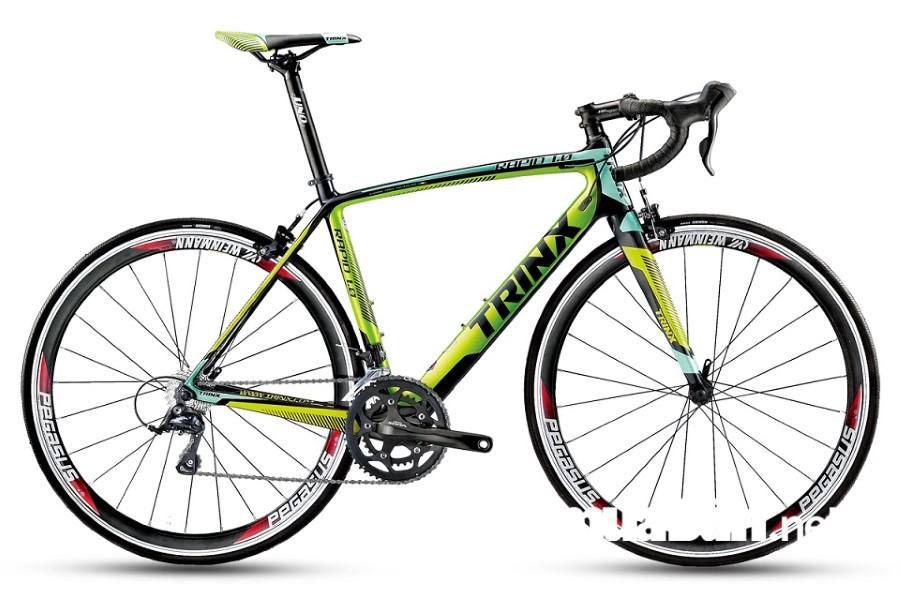Dòng xe đạp thể thao của Trinx có kiểu dáng mạnh mẽ, thanh thoát và trẻ trung.