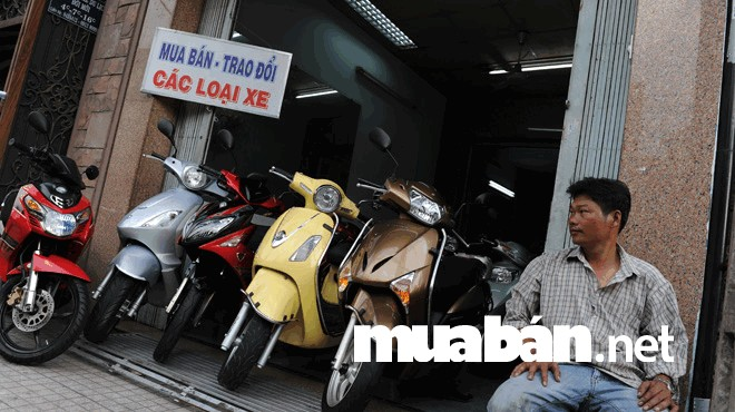 Tham khảo giá bán trước khi định giá từ thị trường buôn bán xe máy cũ
