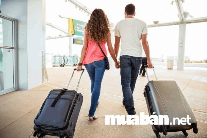 Lựa chọn những chiếc vali thích hợp để đựng đồ cho chuyến du lịch