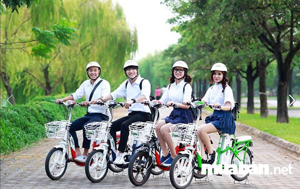 Điểm qua những lí do nên mua xe đạp điện