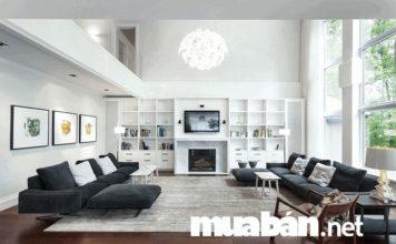 Phòng khách đẹp là nơi hội tụ được các yếu tố hài hòa giữa màu sắc và cách bố trí nội thất