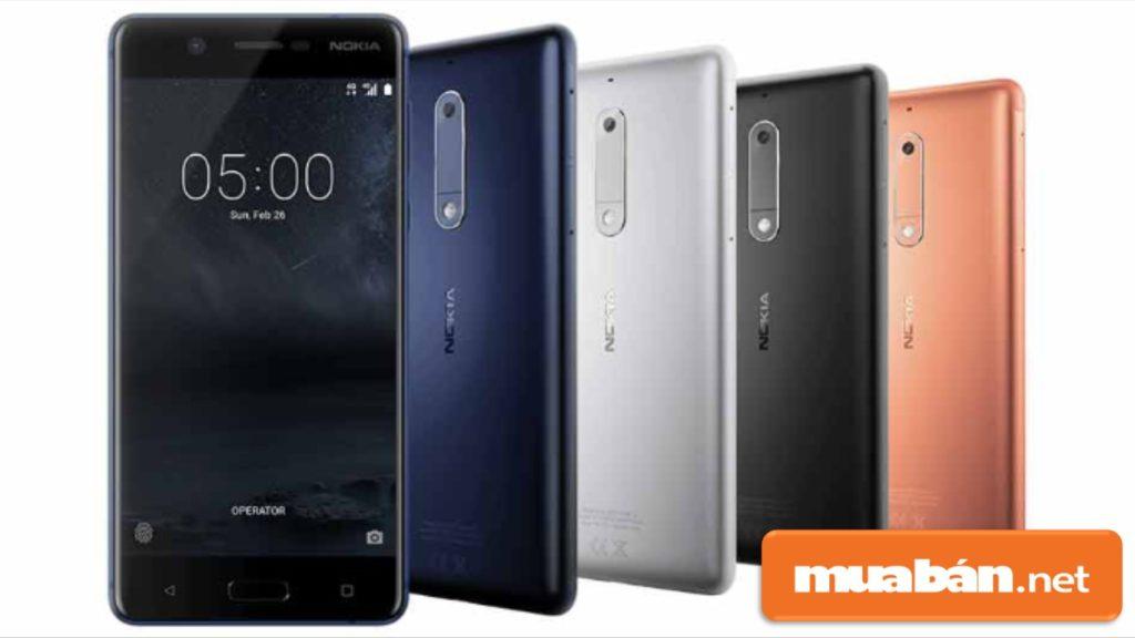 Nokia 5 Có Nhiều Màu Sắc Giúp Khách Hàng Dễ Dàng Lựa Chọn