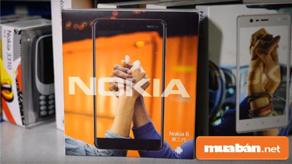 Nguyên hộp Nokia 6.1 (2018)