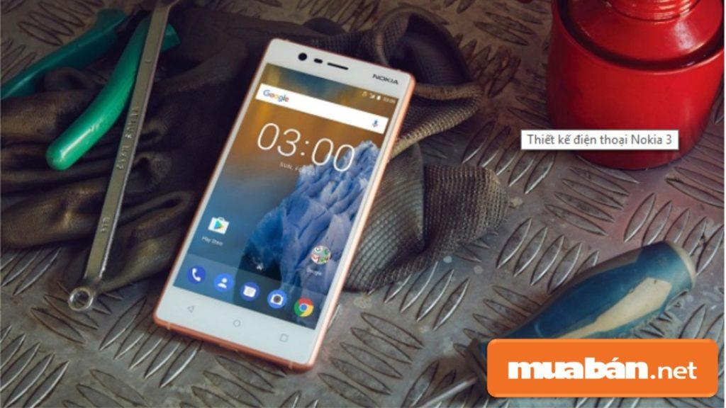 Phím Điều Hướng Của Nokia 3 Đưa Ra Ngoài Giúp Màn Hình Rộng Và Thoáng Hơn