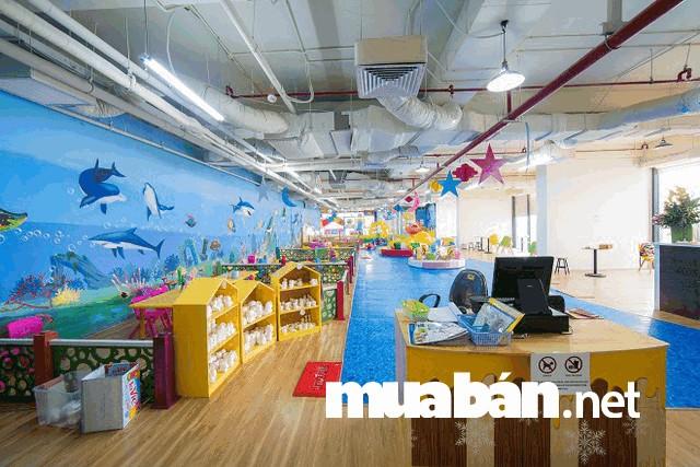 Tìm hiểu các tiện ích xung quanh căn hộ như khu vui chơi trẻ em...
