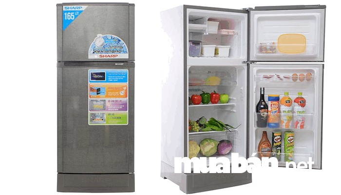 Tủ lạnh Sharp SJ-170S-SL