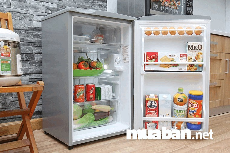 Tủ lạnh dạng mini phù hợp với không gian nhỏ