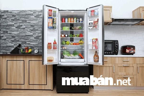 Kiểu tủ lạnh có ngăn đá bên dưới