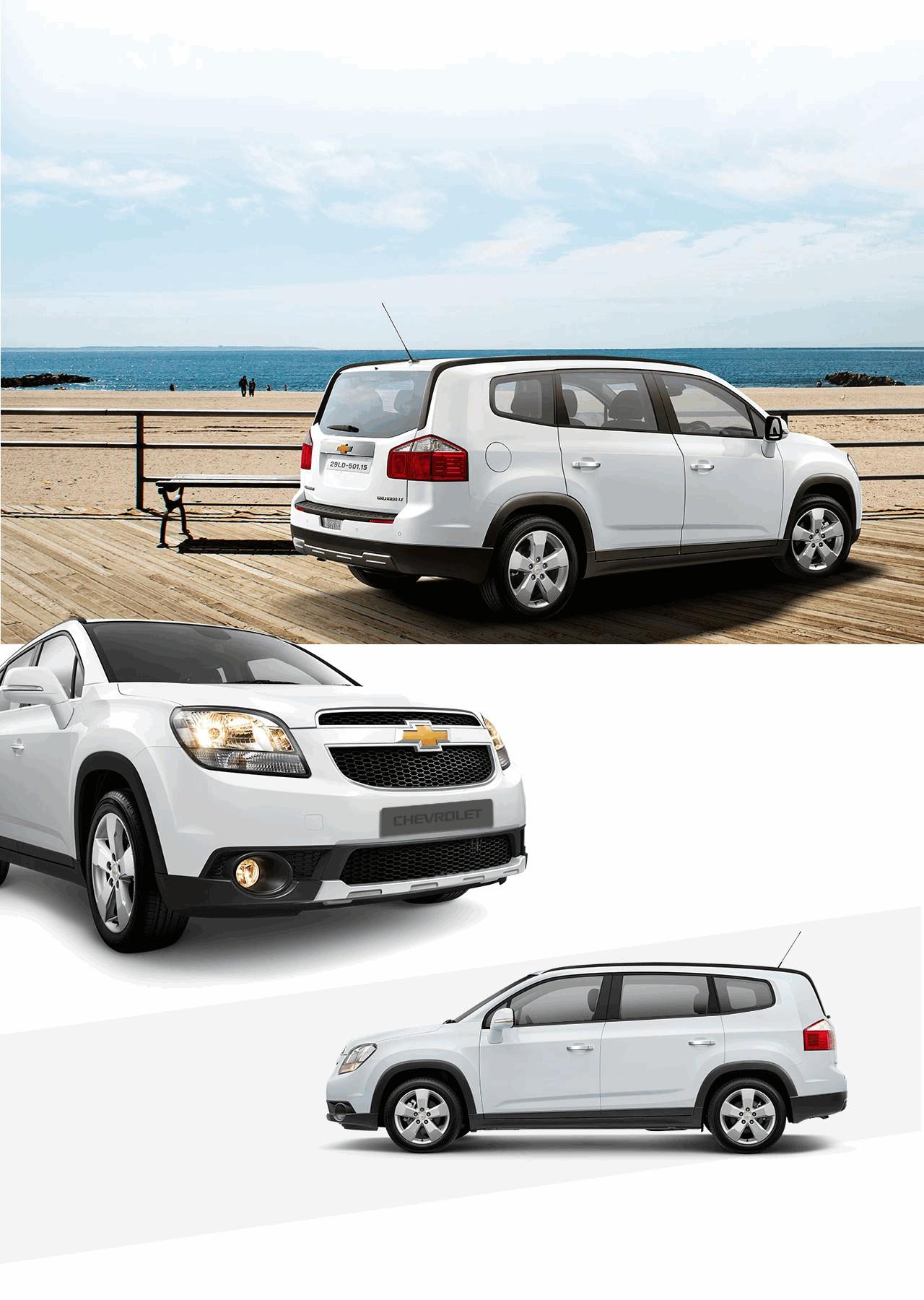 Xe 7 Chỗ Chevrolet Orlando Có Giá Từ 639 Triệu Vnđ