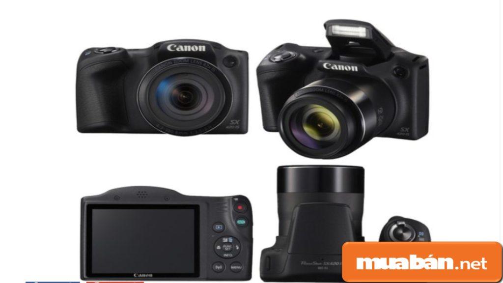Canon PowerShot SX430 IS hỗ trợ bắt nét từ khoảng cách xa.