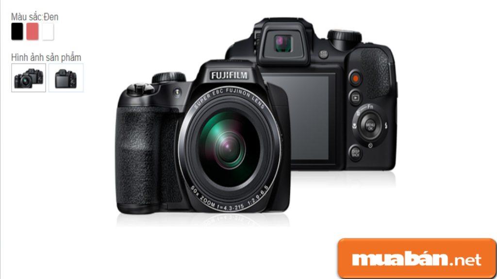 Fujfilm FinePix S94000W được thiết kế khá đẹp.