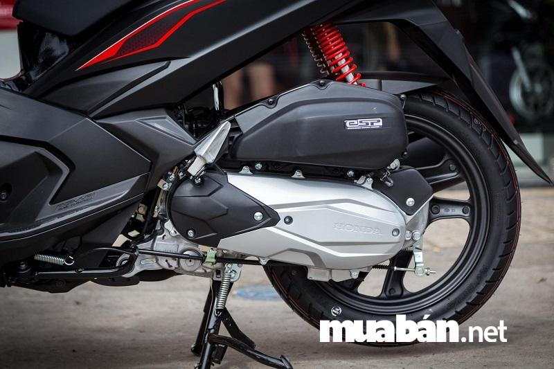 Honda Airblade 2018 thiết kế cứng cáp và nhẹ hơn.