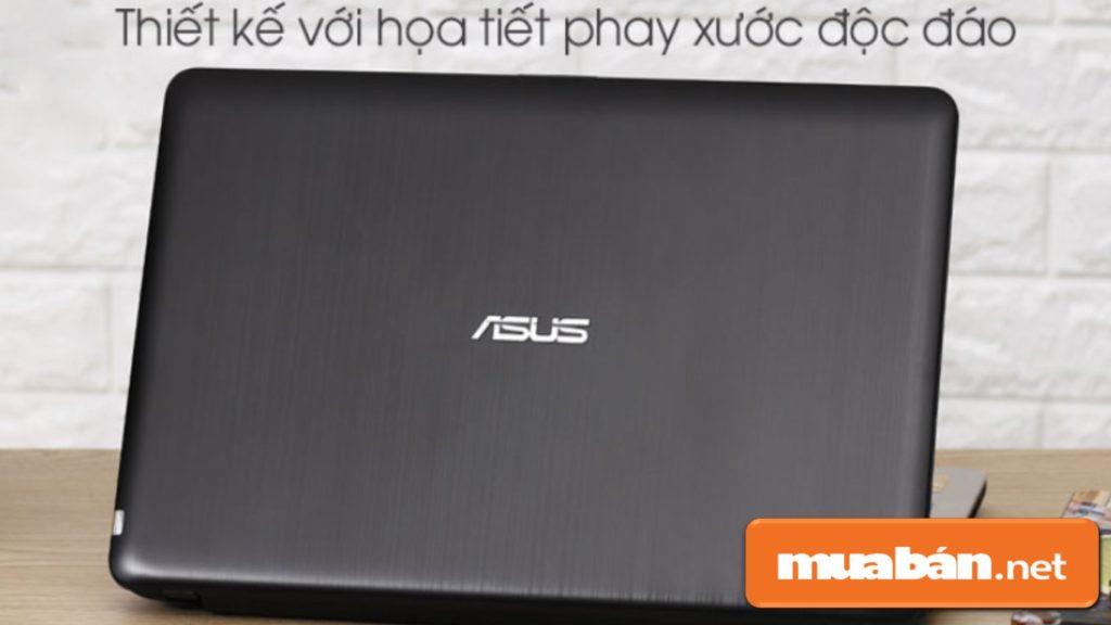 Asus Vivobook X540UB có thiết kế bằng chất liệu nhựa khá đơn giản.