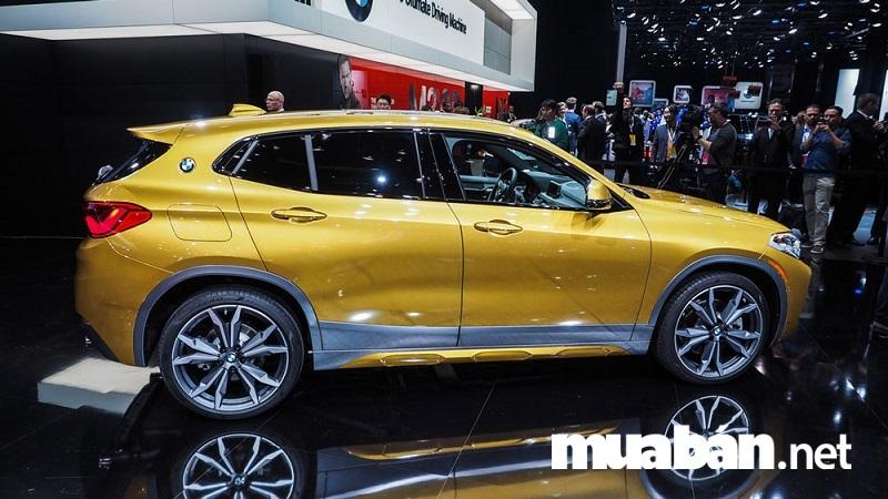 BMW X2 2018 được trang bị nhiều tính năng an toàn.