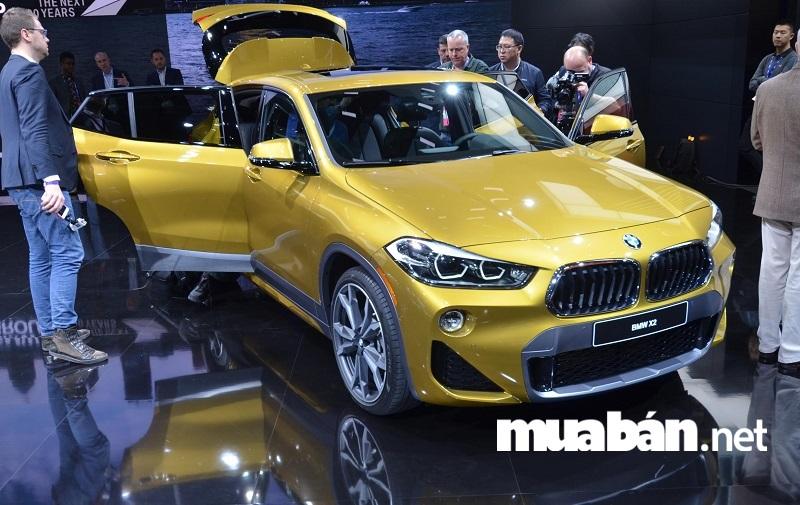 BMW X2 - dòng xe thể thao đa tính năng.
