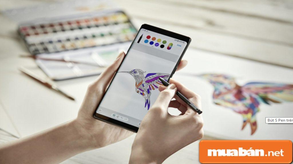 Chức năng của bút S-Pen sẽ được cải tiến đáng kể ở Note 9.
