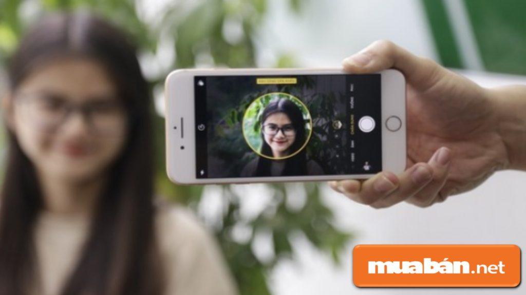 Nhìn chung, tốc độ xử lý hình ảnh của camera Iphone 8 khá chậm, mất khoảng 5 giây.